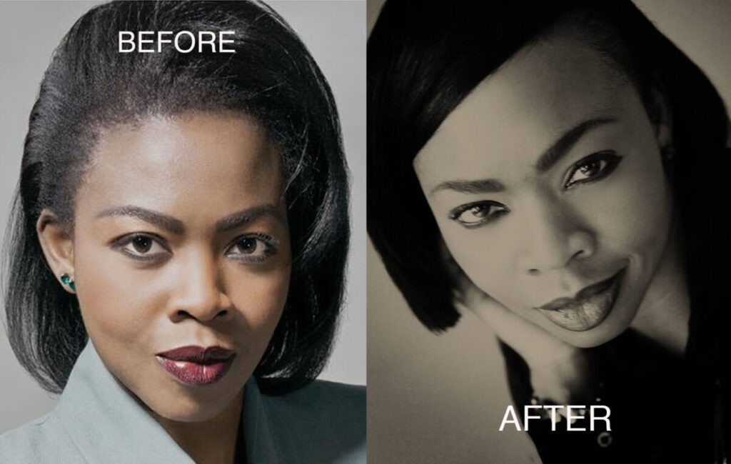 beforeafter 1024x650 - A master portrait photographer in France who creates beautiful contemporary portraiture