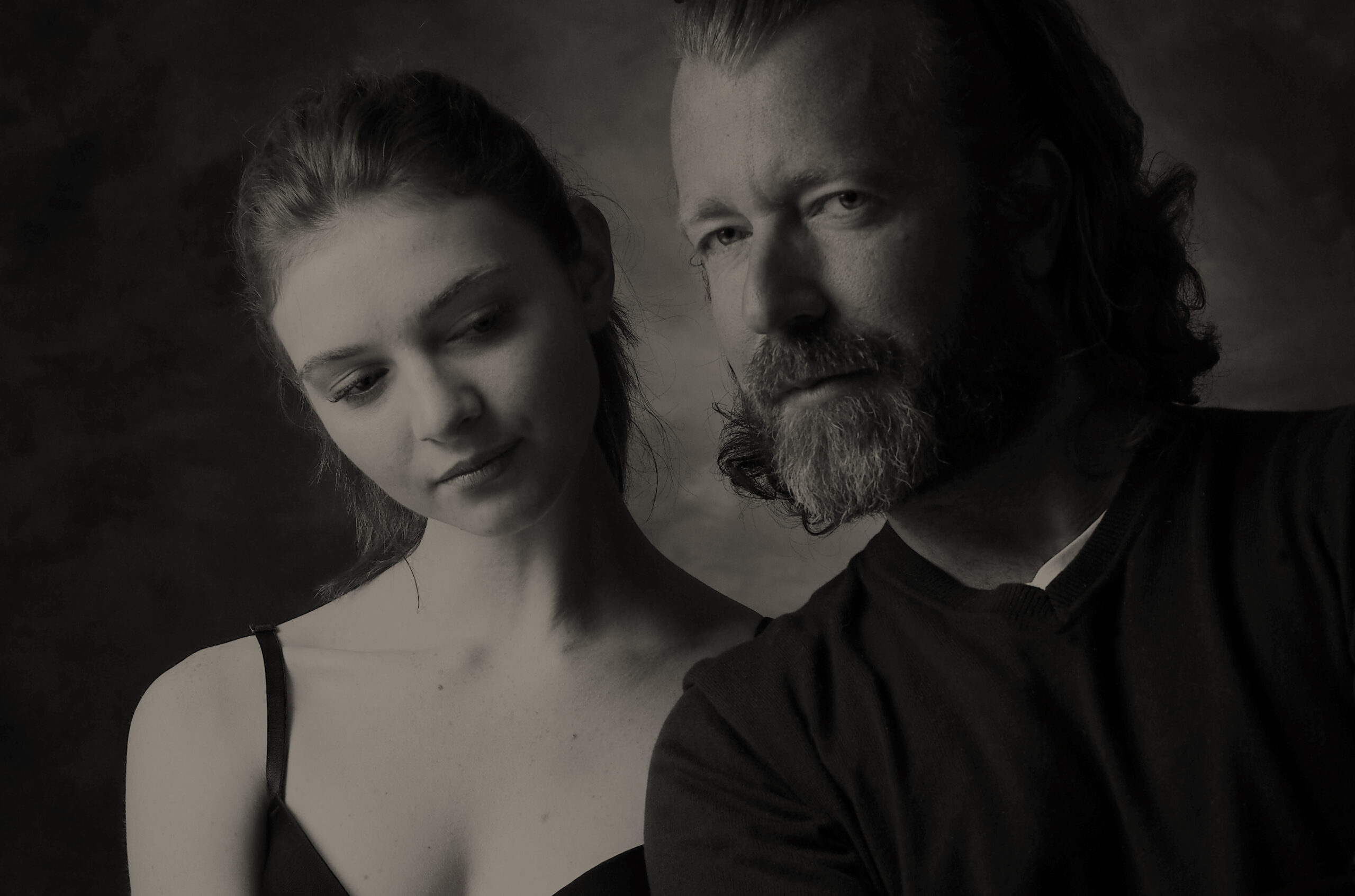 Father and daughter portrait photographer on The Côte d'Azur