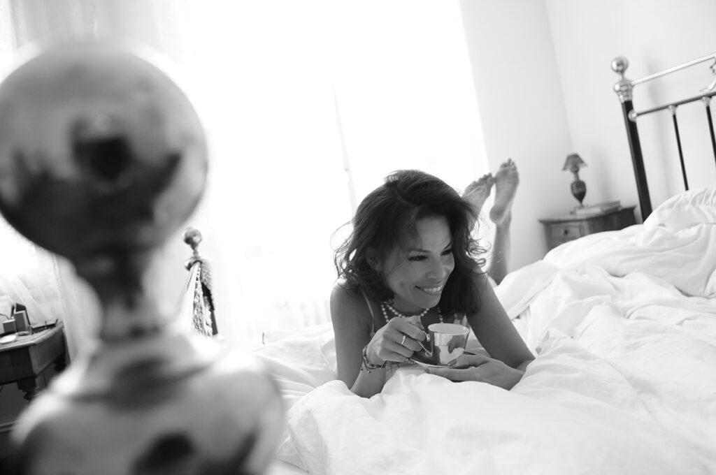 Portrait by boudoir portrait photographer on the Coted'Azure