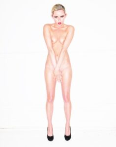 Studio nude portraits